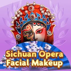 Sichuan opera facial makeup