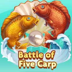 Battle of five carp
