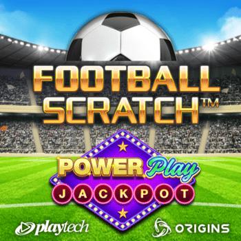 Football Scratch PowerPlay Jackpot