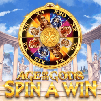 Age of the Gods™ Spin a Win